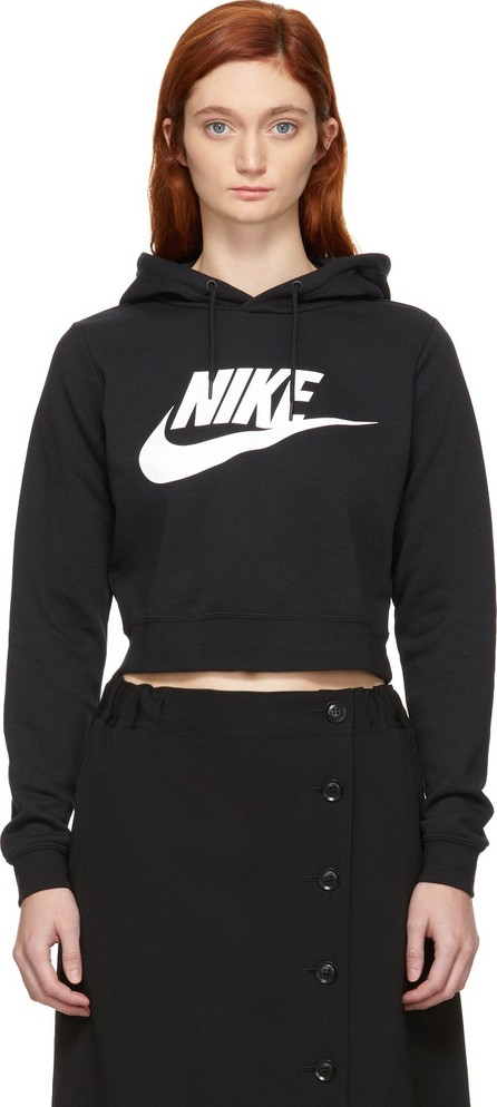 Nike Black NSW Cropped Rally Hoodie