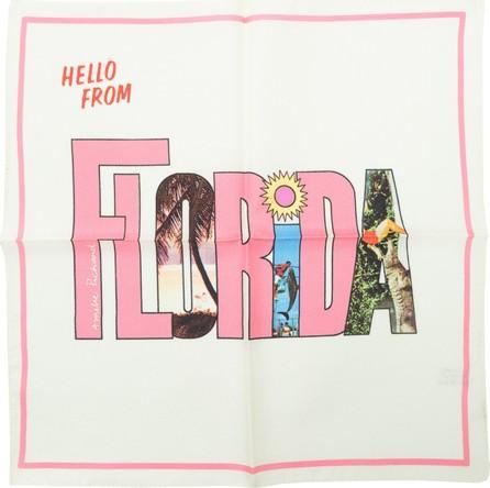 Amélie Pichard florida postcard scarf