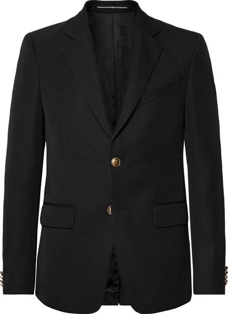 Givenchy Black Slim-Fit Twill Blazer