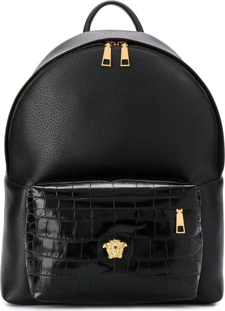 Versace Dual-textured backpack
