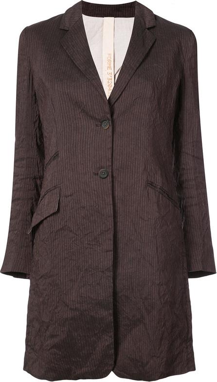 Forme D'expression Striped longline blazer