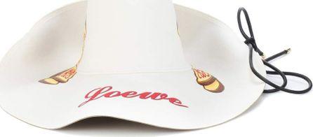 LOEWE Toast suede-lined hat