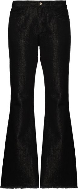 Marques'Almeida Coated bootcut jeans