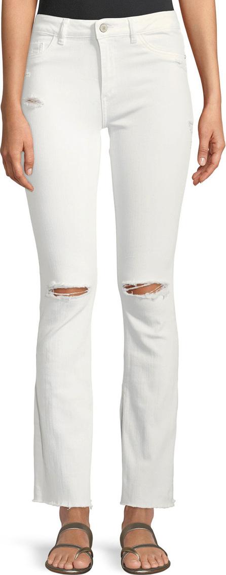 DL1961 Bridget Instasculpt Distressed Narrow Boot-Cut Jeans