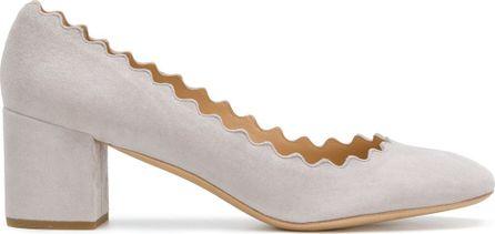 Chloe Lauren block heel pumps