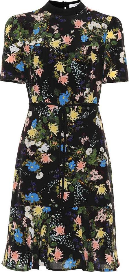 Erdem Anne floral silk dress
