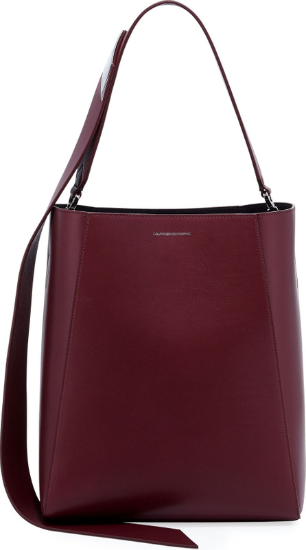 Calvin Klein 205W39NYC Calf Leather Bucket Bag