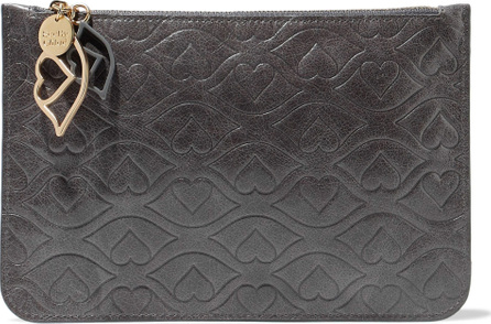 See By Chloé Embossed leather pouch