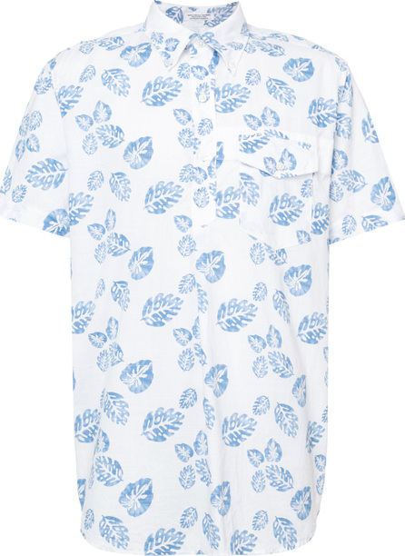 Engineered Garments Leaf print shirt