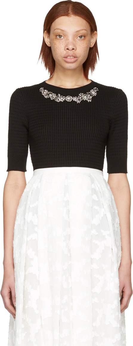 Erdem Black Dree Pullover