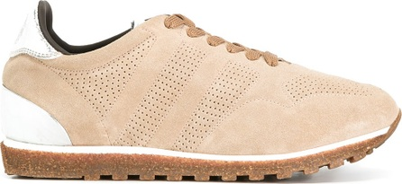 Alberto Fasciani perforated decoration sneakers