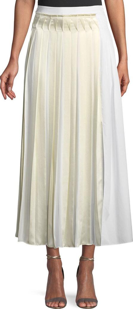 3.1 Phillip Lim Pleated Cotton Poplin Maxi Skirt