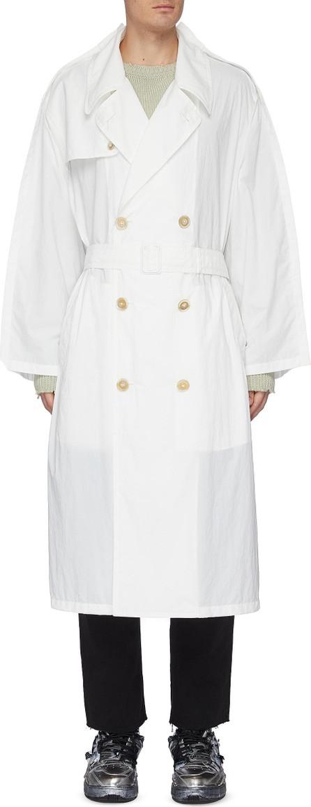 Maison Margiela Belted nylon trench coat