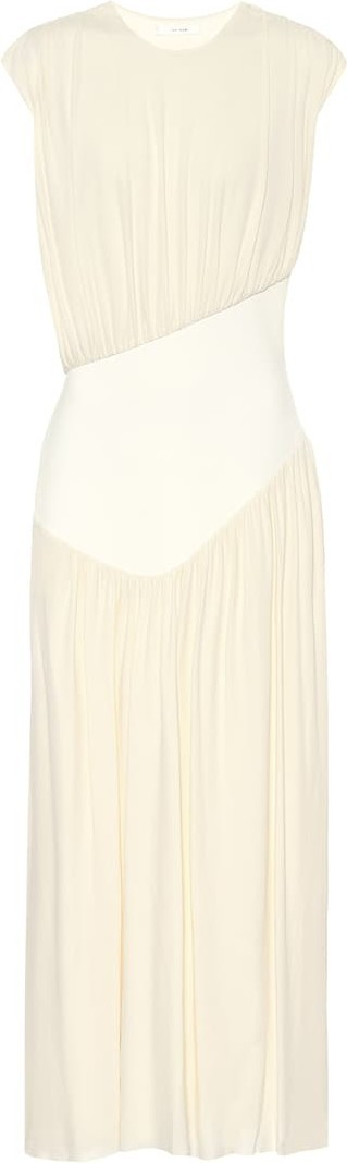 THE ROW Yokoto crêpe-jersey dress