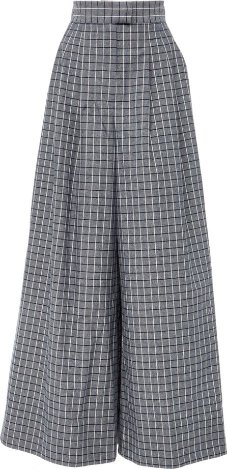 Acler Cunningham Wide Leg Check Pant