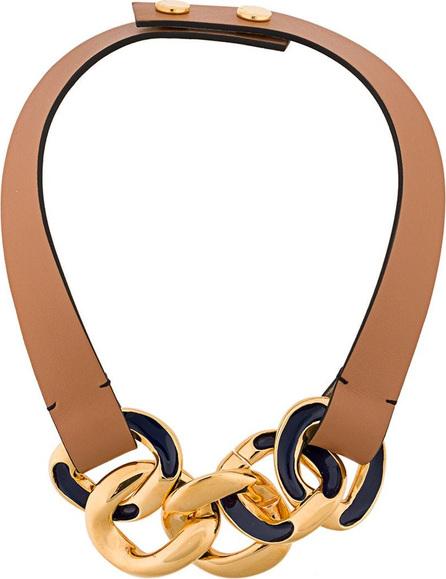 Marni Curb chain choker necklace