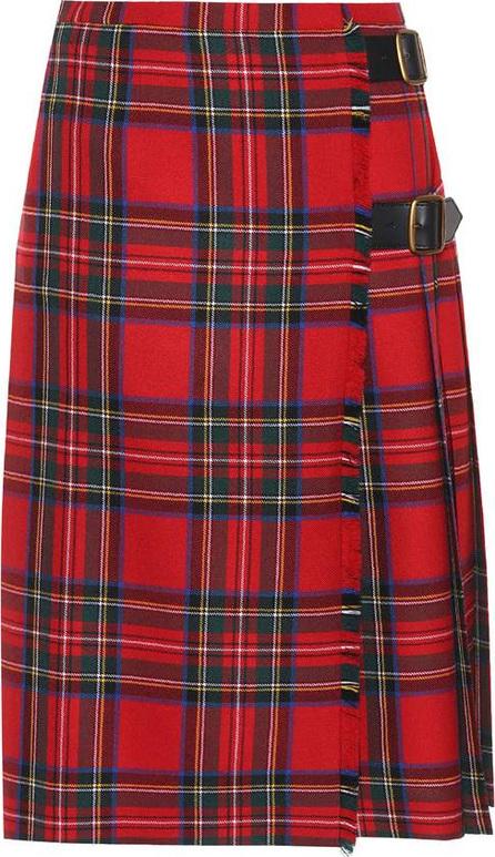 Burberry London England Check wool skirt