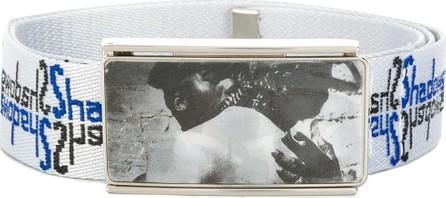 Martine Rose Logo embroidered belt
