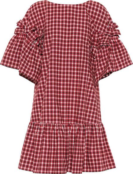 Fendi Checked cotton dress