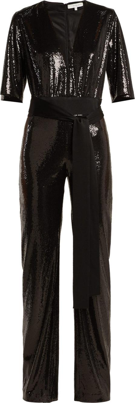 Galvan Galaxy sequinned wide-leg jumpsuit