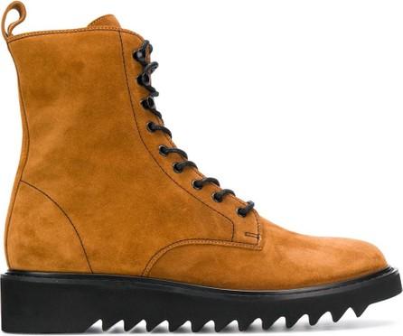 Giuseppe Zanotti Ridged sole military boots