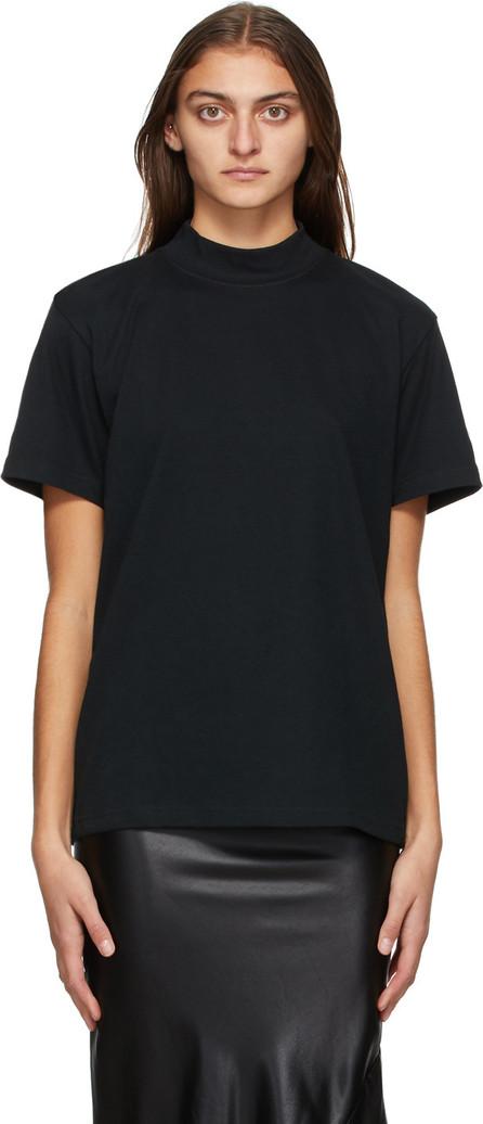 Yohji Yamamoto Black New Era Edition Mock Neck T-Shirt