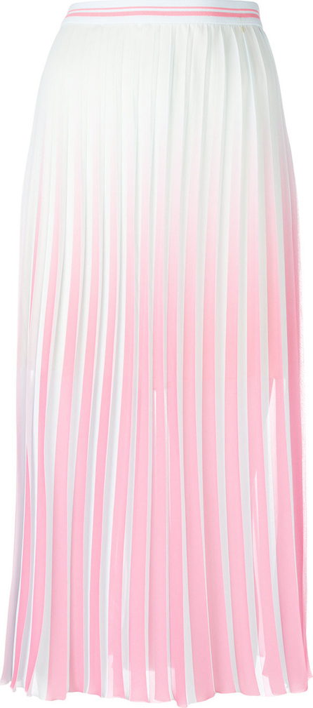 Marc Cain Gradient pleated skirt