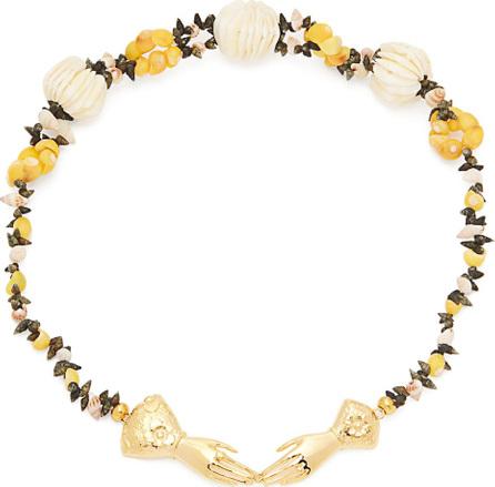 Heimat Atlantica Eloise shell-embellished necklace