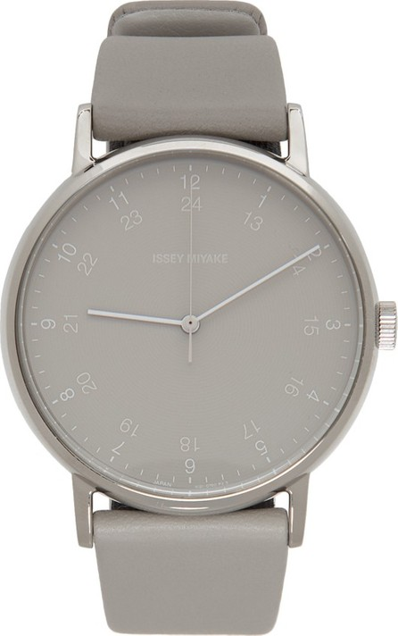 Issey Miyake Men Grey F Series Watch