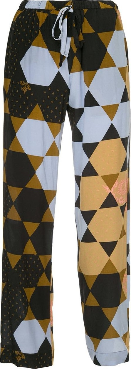 Stine Goya Hexagon print trousers
