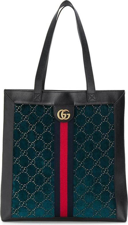 Gucci Monogram print tote bag