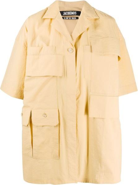 Jacquemus Vallon boxy shirt dress