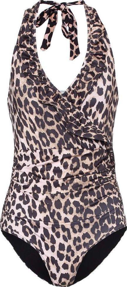 Ganni Belrose one-piece swimsuit
