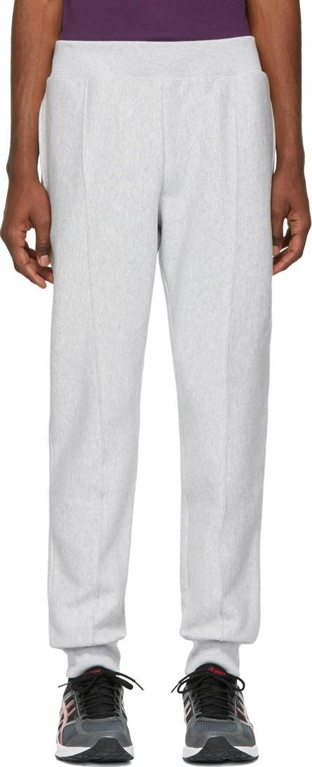 Champion Reverse Weave Grey Cuffed Jogger Pants