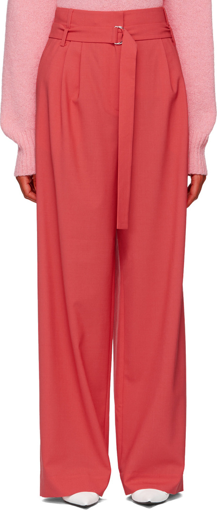 Tibi Red Suit Tailored Trousers