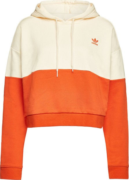 Adidas Originals Cropped Hoody with Cotton