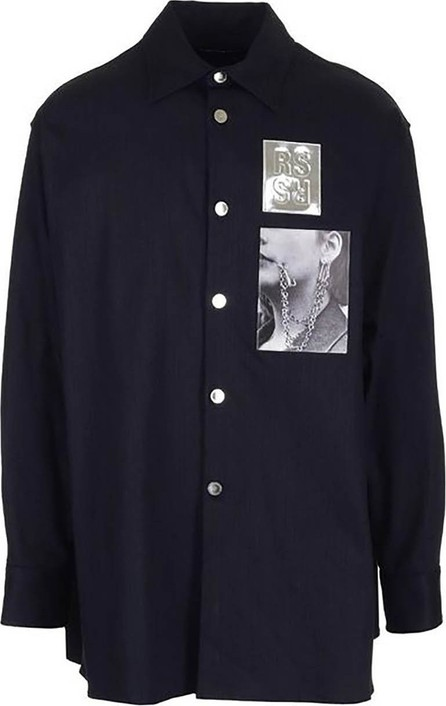 Raf Simons Picture patch shirt