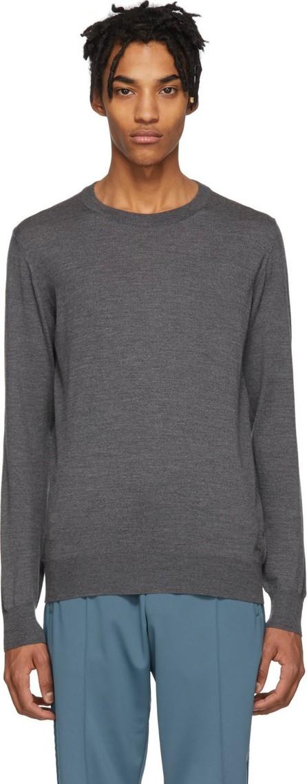 Brioni Grey Wool Sweater