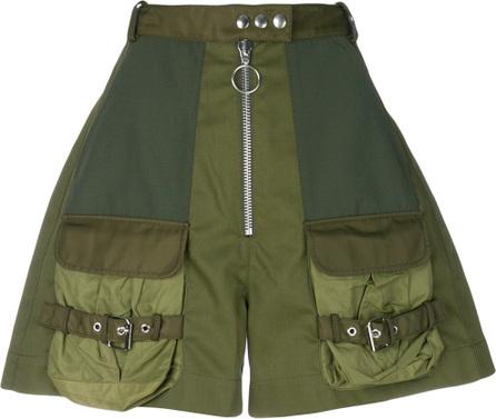 Marques'Almeida High-waist military shorts