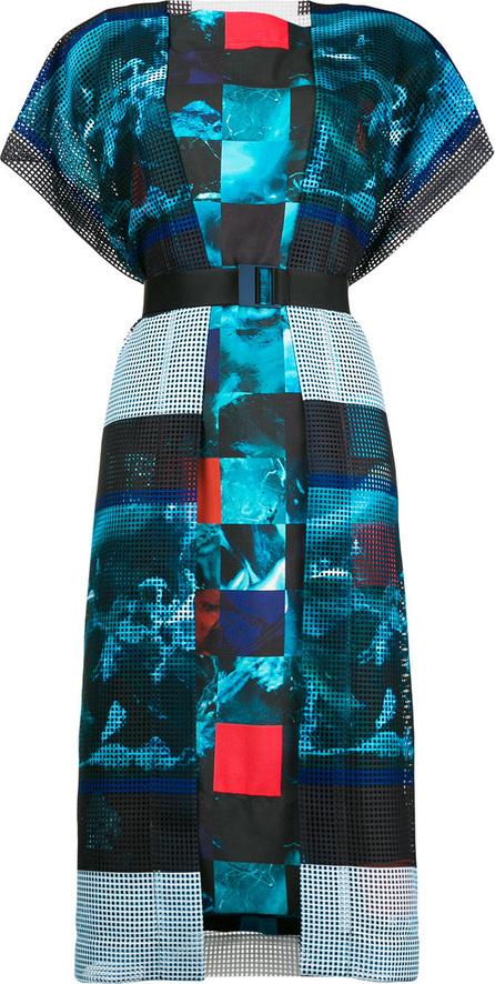 Issey Miyake Belted oversized dress