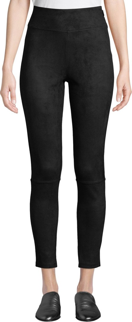 Splendid Highline Faux-Suede Leggings