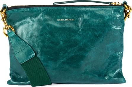 Isabel Marant Nessah Leather Shopper Crossbody Bag