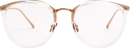 Linda Farrow D-frame acetate glasses