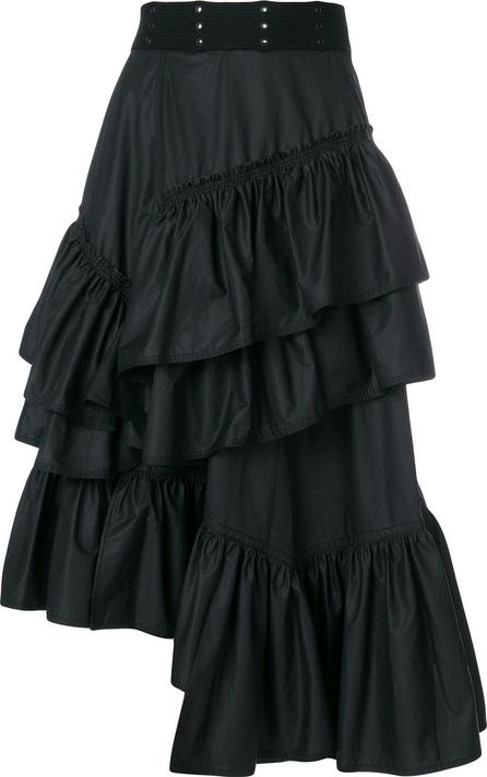 3.1 Phillip Lim Flared ruffle skirt