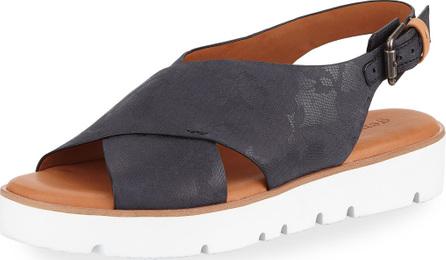 Gentle Souls Kiki Floral Leather Comfort Sandal