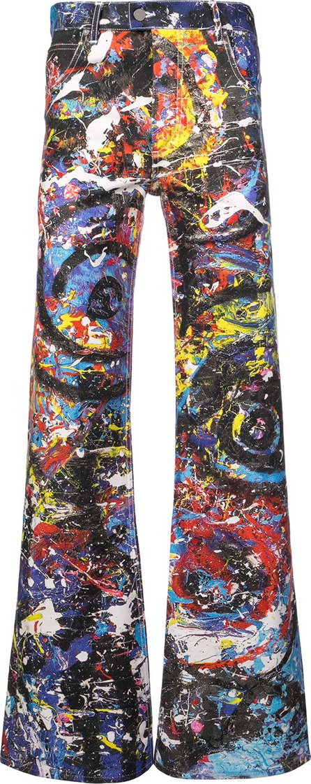Charles Jeffrey Loverboy Painted golden trousers