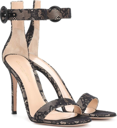 Gianvito Rossi Portofino 105 lace sandals