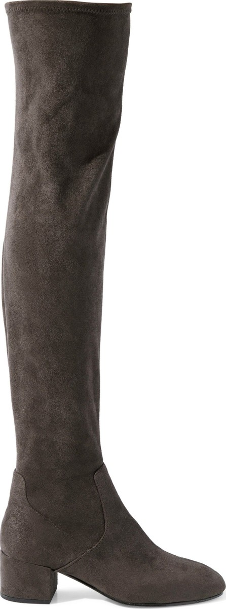 ASH Diva faux suede over-the-knee boots