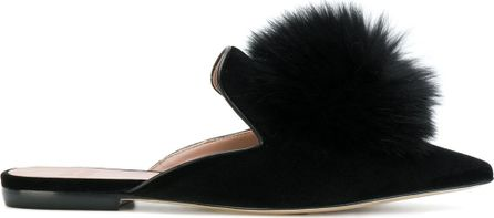 Gianna Meliani Cool pompom mules