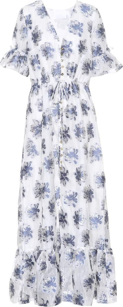 Athena Procopiou In The Hills silk-blend maxi dress